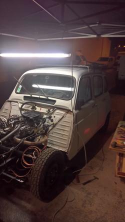 Moteur - Boite Renault 4L 956 cm 3 (137)