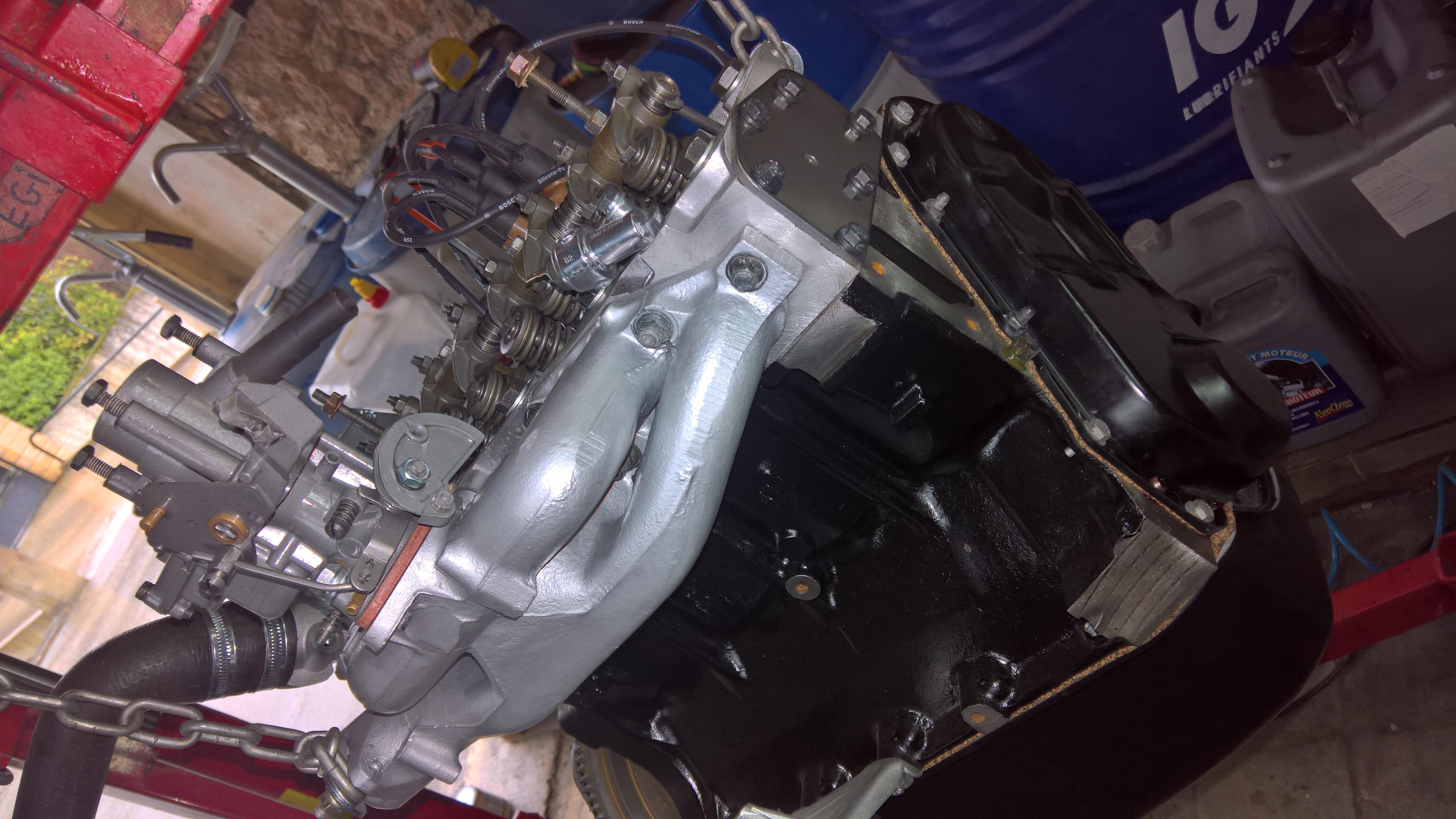 Moteur - Boite Renault 4L 956 cm 3 (132)