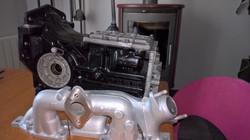 Moteur - Boite Renault 4L 956 cm 3 (94)