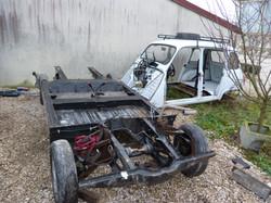 Train avant Renault 4L (2)
