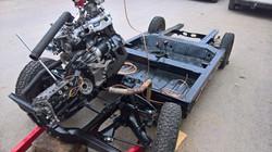 Moteur - Boite Renault 4L 956 cm 3 (134)
