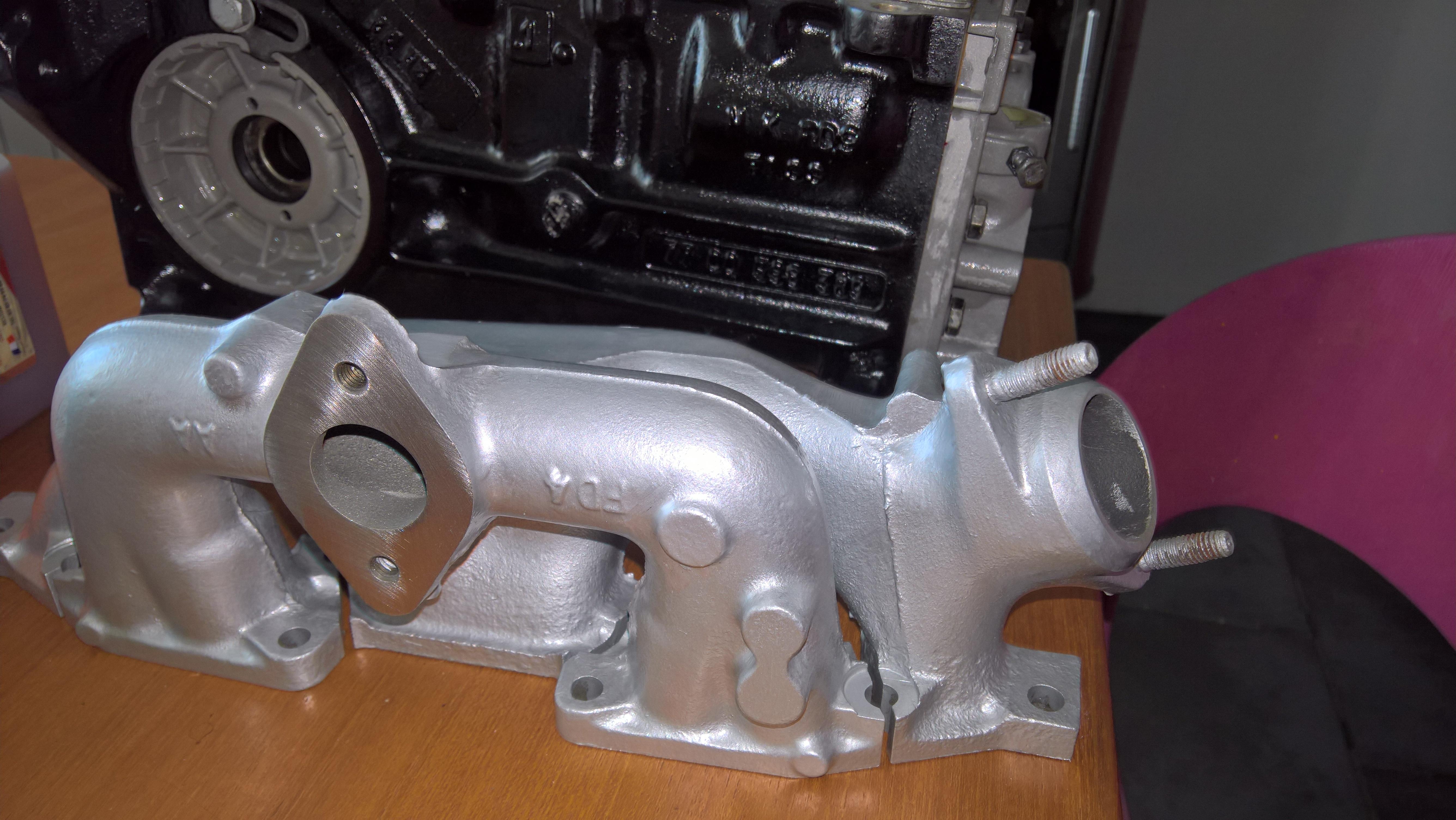 Moteur - Boite Renault 4L 956 cm 3 (93)