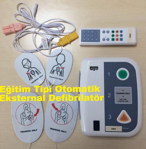 Eğitim Tipi Otomatik Eksternal Defibrilatör TÜRKÇE