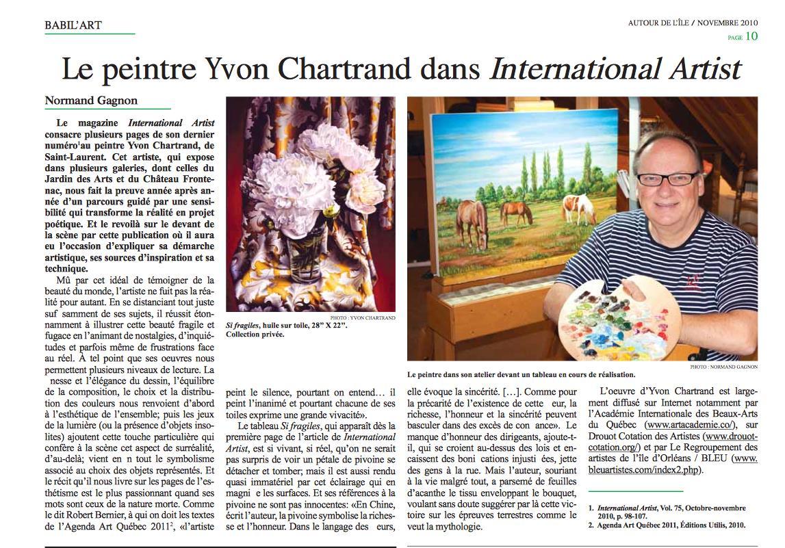 2010-Yvon Chartrand