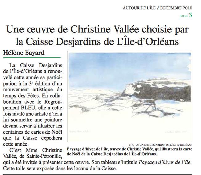 2010-Carte Noël C.Vallée