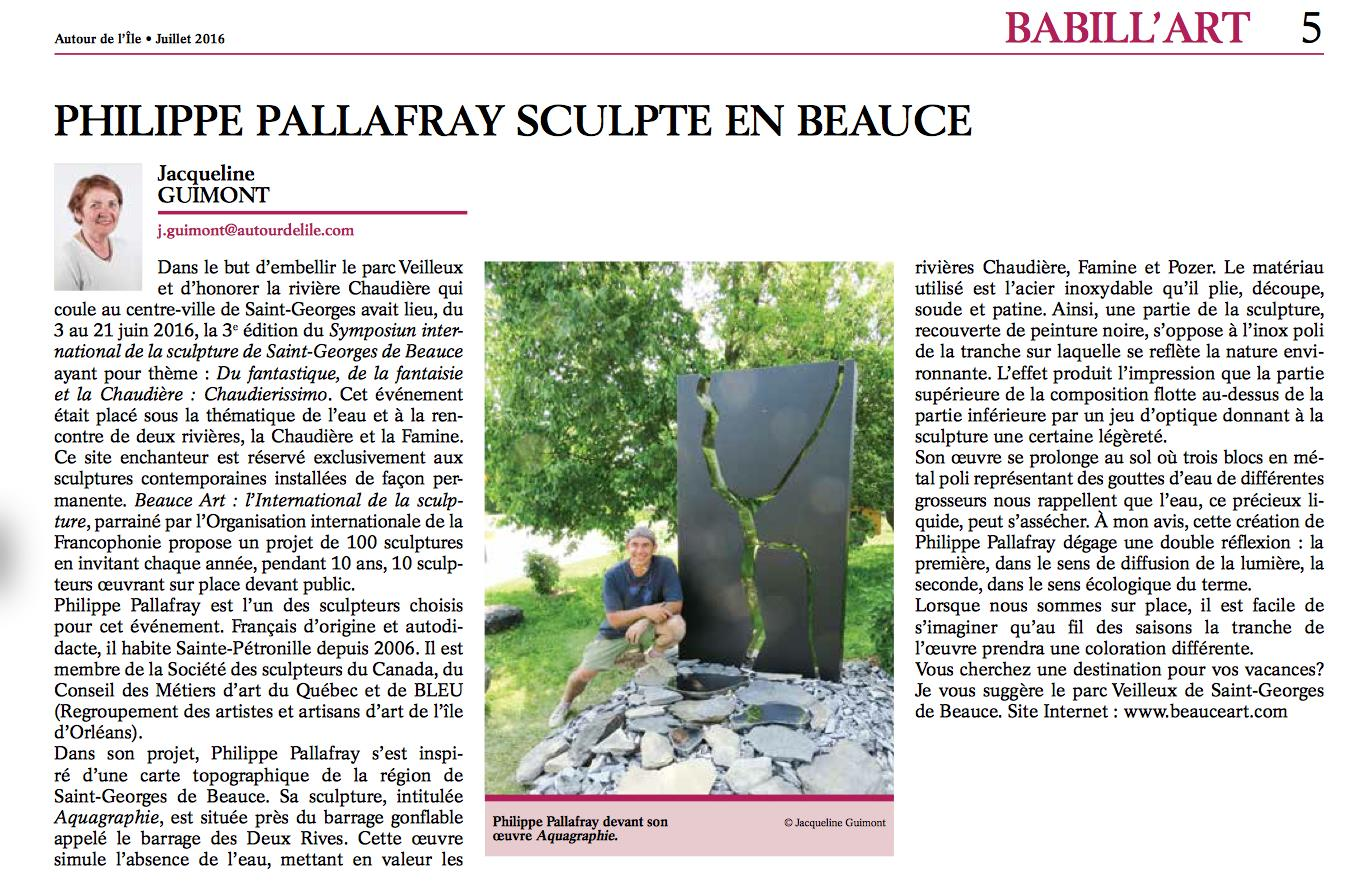 2016-Philippe Pallafray Beauce
