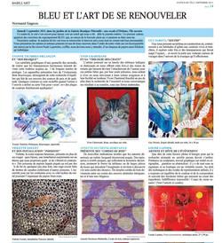 2011-Bleu et l'art de se renouveler