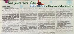 2009 Bleu-neige