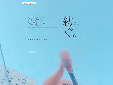 STAY SALTY vol.2  アップしました!