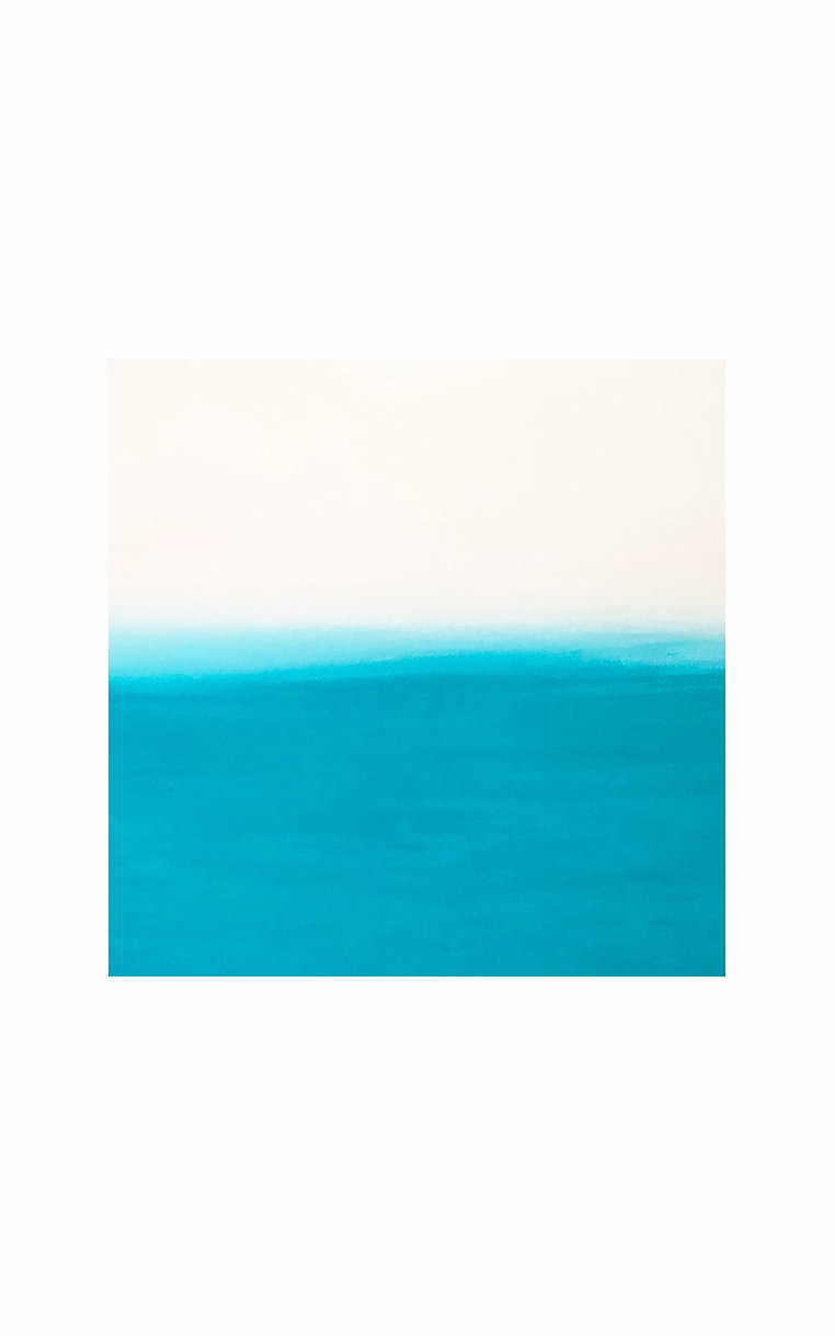 1000年後の未来の風景「海と空の絵」