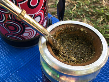 Let's go to the park with a yerba mate tea set!