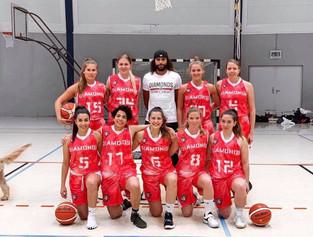 Diamonds Oberliga Teamfoto 2019-20