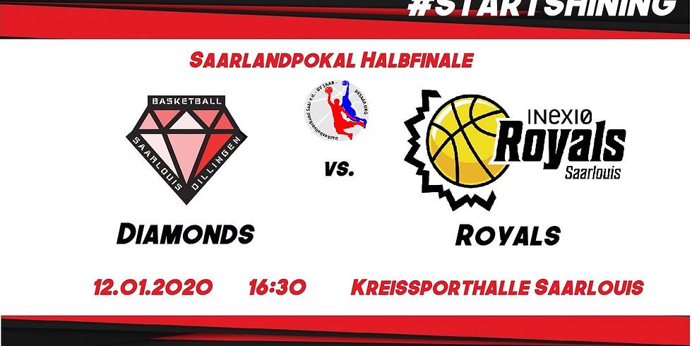 Saarlandpokal Halbfinale: Diamonds vs. Royals
