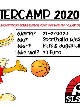 Ostercamp 2020, die Anmeldungen laufen