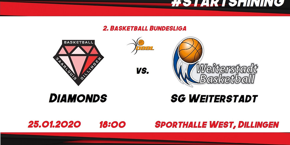 Diamonds vs. SG Weiterstadt