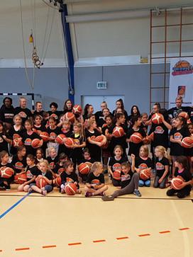 Mädchenbasketball bei den Diamonds