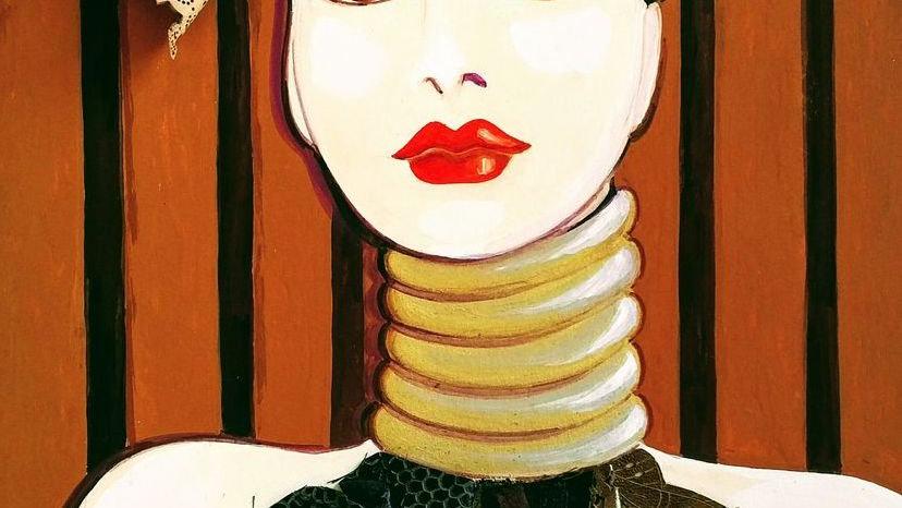 Femme d'ailleurs by Elizabeth Wessel