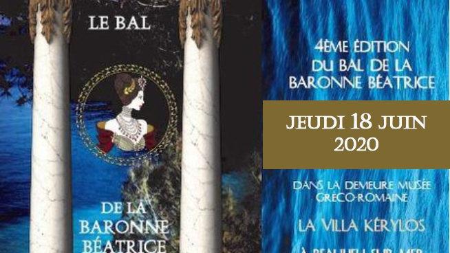Bal de la Baronne - Jeudi 18 Juin 2020 - Billet / Ticket