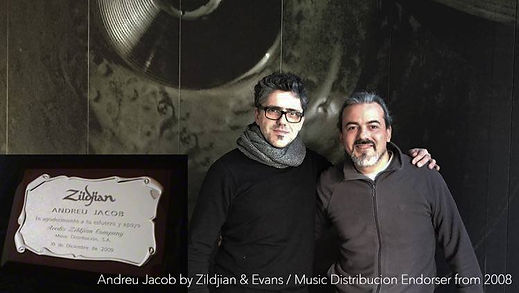 Andreu Jacob with Alfredo Mendez & Music Distribución