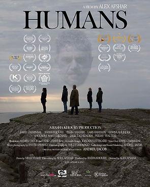 Humans  a film by Alex Afshar / Original motion picture soundtrack Andreu Jacob