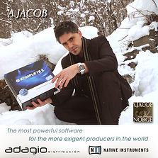 Andreu Jacob,  KUNST art music producer composer artist