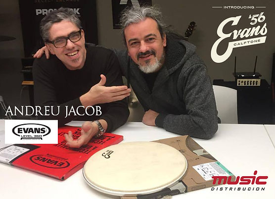 Andreu Jacob by EVANS ´56 & Music Distribucion with Alfredo Mendez