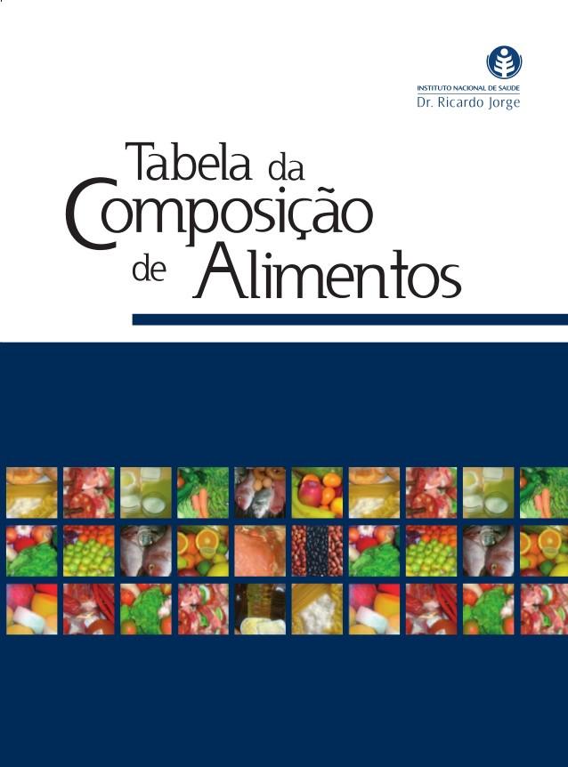 NOVA TABELA DE COMPOSIÇÃO DE ALIMENTOS