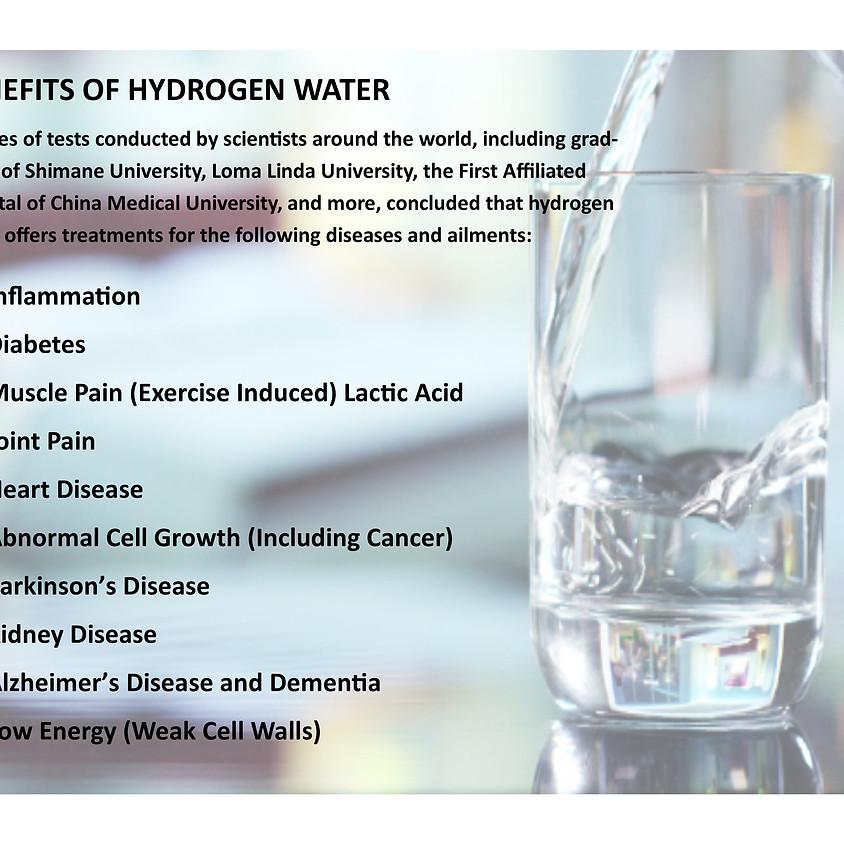 "Arlene R. Taylor, PhD explains ""'HW'- Hydrogen Water!"""