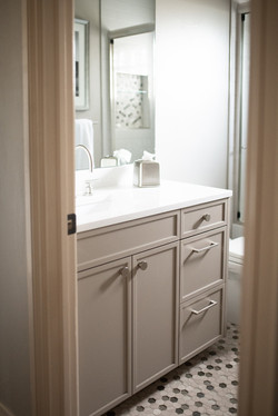 Project Meadow Place Contemporary - Guest Bathroom View 1