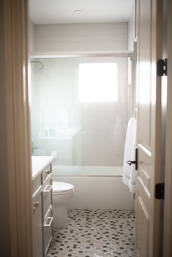Project Meadow Place Contemporary - Guest Bathroom View 2