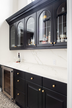 Project Gilbert St. Transitional Victorian - Butlers Pantry View 1