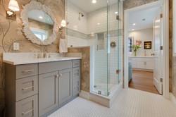 Project Holyoke Craftsman Basement Guest Bath - View 2