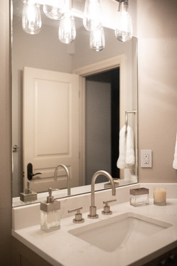 Project Meadow Place Contemporary - Basement Bathroom View 2