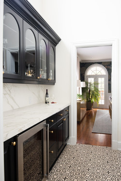 Project Gilbert St. Transitional Victorian - Butlers Pantry View 2