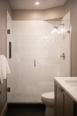 Project Meadow Place Contemporary - Basement Bathroom View 4
