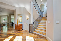 Project Meadow Place Contemporary - Staircase View 1