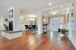 Project Holyoke Dr. Craftsman Living Room