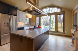 Project Prospect Rd Contemporary - Kitchen View 1