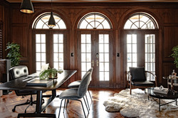 Project Gilbert St. Transitional Victorian - Study View 1