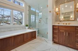 Project Holyoke Craftsman Master Bath - View 2