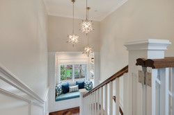 Project Holyoke Craftsman Upper Staircase