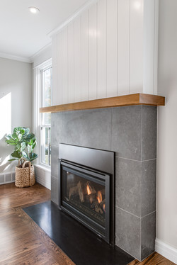 Project 6th Street Transitional - Fireplace
