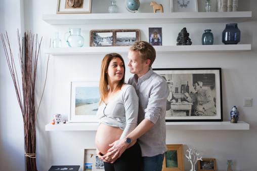 séance maternité domicile