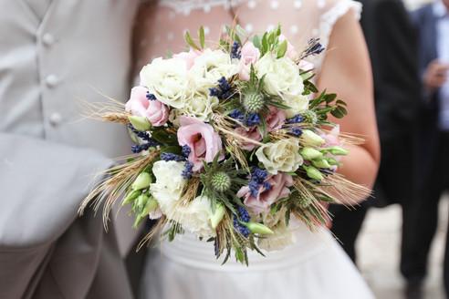 bouquet de fleur mariée