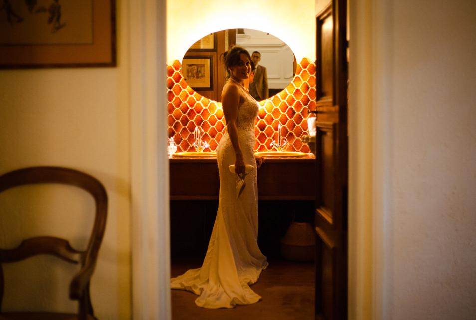 la mariée Sabine