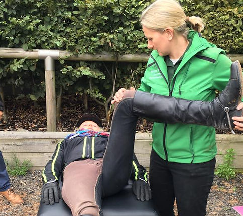 human horse rider physiotherapy