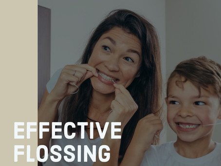 How To Floss Effectively?