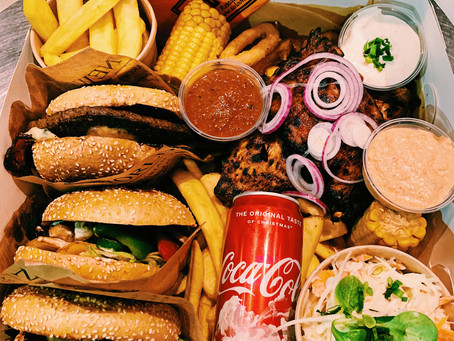 Neu: Unsere Burgerbox