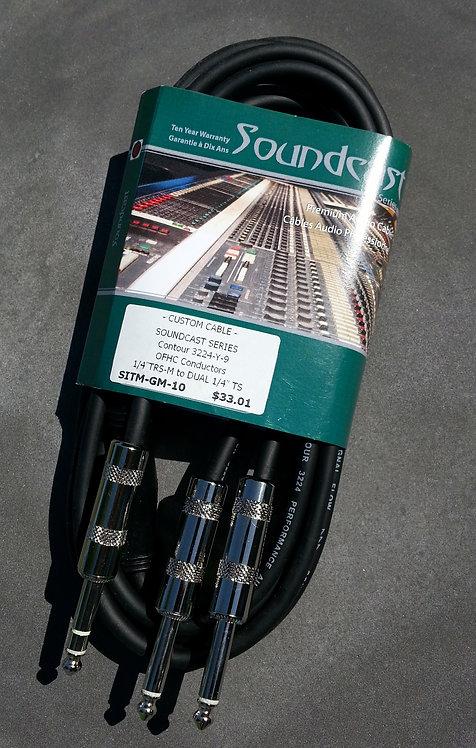 BRTB SITM-GM-10, insert cable, 1/4 TS jacks