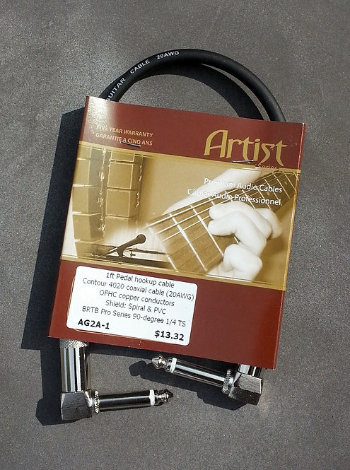 BRTB Artist AG2A1, 1/4 inch instrument cable